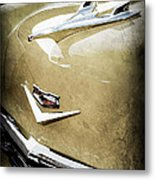 1956 Chevrolet Hood Ornament - Emblem Metal Print