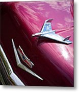 1956 Chevy Bel Air Metal Print