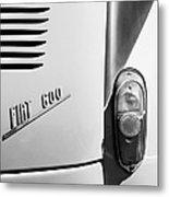 1956 Fiat 600 Taillight Emblem Metal Print