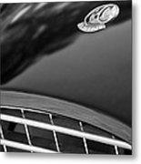 1957 Ac Ace Bristol Roadster Hood Emblem Metal Print