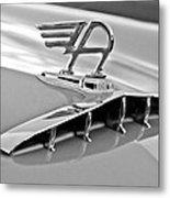 1957 Austin Cambrian 4 Door Saloon Hood Ornament Metal Print