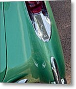 1957 Chevrolet Corvette Taillight Metal Print