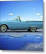 1957 Ford Thunderbird Convertible Metal Print