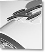 1957 Oldsmobile Hood Ornament Metal Print