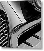 1957 Studebaker Golden Hawk Hardtop Grille Emblem Metal Print