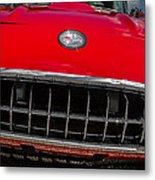 1958 Chevrolet Corvette Grille Metal Print