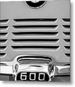 1959 Bmw 600 Isetta Emblem Metal Print