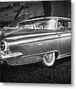 1959 Buick Electra 225 Bw Metal Print