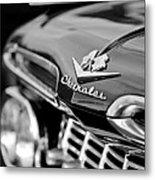 1959 Chevrolet Grille Emblem Metal Print