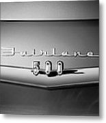 1959 Ford Fairlane 500 Emblem Metal Print