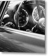 1960 Aston Martin Db4 Series II Steering Wheel Metal Print