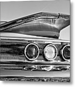 1960 Chevrolet Impala Resto Rod Taillight Metal Print
