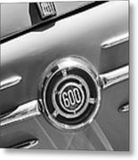 1960 Fiat 600 Jolly Emblem Metal Print by Jill Reger