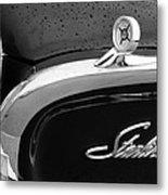 1960 Ford Galaxie Starliner Hood Ornament - Emblem Metal Print