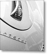 1960 Porsche 356 B 1600 Super Roadster Hood Emblem Metal Print