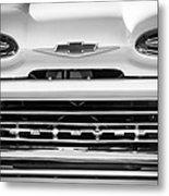 1961 Chevrolet Grille Emblem Metal Print