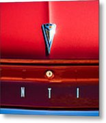 1961 Pontiac Catalina Emblem Metal Print