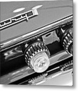 1962 Plymouth Fury Taillights And Emblem Metal Print