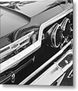 1963 Chevrolet Taillight Emblem Metal Print