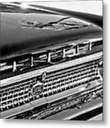 1963 Ford Galaxie 500xl Taillight Emblem Metal Print by Jill Reger