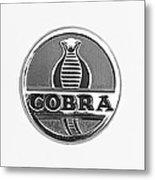 1963 Shelby 289 Cobra Emblem Metal Print