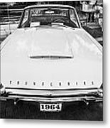 1964 Ford Thunderbird Painted Bw  Metal Print