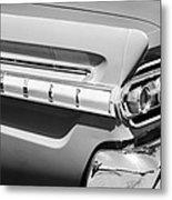 1964 Mercury Comet Taillight Emblem Metal Print