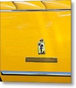 1965 Ferrari 275gts Emblem Metal Print