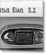 1965 Lotus Elan S2 Taillight Emblem Metal Print by Jill Reger