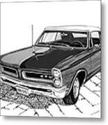 1965 Pontiac G T O Convertible Metal Print