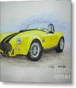 1965 Shelby Cobra Metal Print by Terri Maddin-Miller