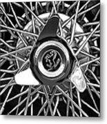 1966 Ferrari 330 Gtc Coupe Wheel Rim Emblem Metal Print