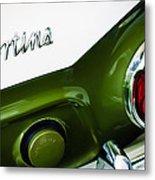 1966 Lotus Cortina Mk1 Taillight Emblem Metal Print