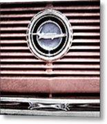 1966 Plymouth Barracuda - Cuda - Emblem Metal Print