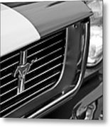 1966 Shelby Gt 350 Grille Emblem Metal Print