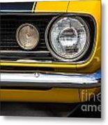 1967 Camaro Headlight Metal Print