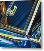 1967 Chevrolet Camaro Ss 350 Rear View Mirror Emblem Metal Print