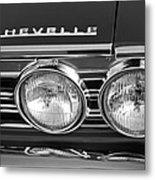 1967 Chevrolet Chevelle Super Sport Emblem Metal Print