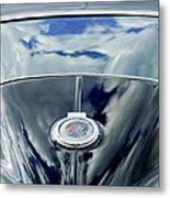 1967 Chevrolet Corvette Rear Emblem Metal Print by Jill Reger