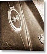 1967 Chevrolet Corvette Rear Emblems Metal Print