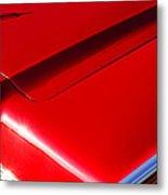 1967 Lincoln Continental Hood Ornament Metal Print