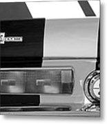 1967 Shelby Gt500 Fastback Taillight Emblem Metal Print