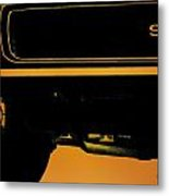 1968 Camaro Ss Metal Print