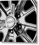 1968 Ford Mustang Fastback 427 Shelby Cobra Wheel Metal Print