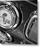 1968 Ford Mustang - Shelby Cobra Gt 350 Taillight And Gas Cap Metal Print