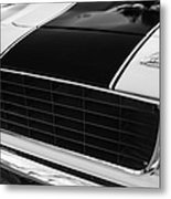 1969 Chevrolet Camaro Rs-ss Indy Pace Car Replica Grille - Hood Emblems Metal Print