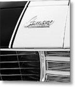 1969 Chevrolet Camaro Rs-ss Indy Pace Car Replica Hood Emblem Metal Print by Jill Reger