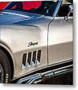 1969 Chevrolet Corvette 427   Metal Print