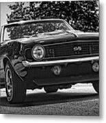 1969 Chevy Camaro Ss Metal Print