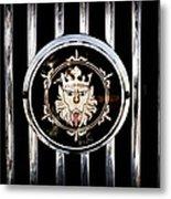 1969 Morgan Roadster Grille Emblem Metal Print